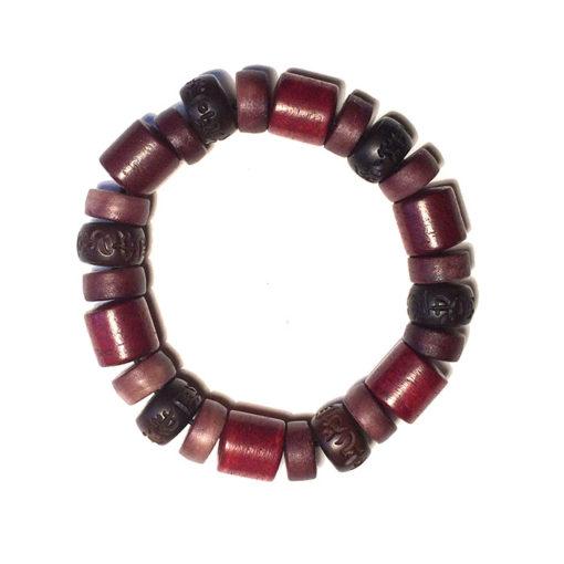 bracelet woodheart en os et bois