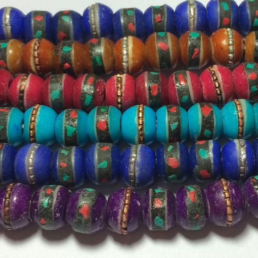 bracelet en perles du népal