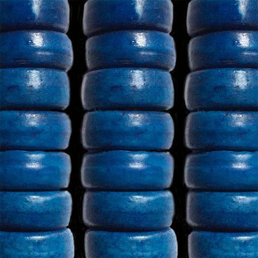 051 carved bone blue indigo.
