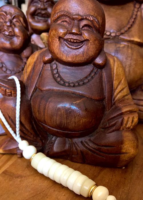 Mani Japmala laughing bouddha