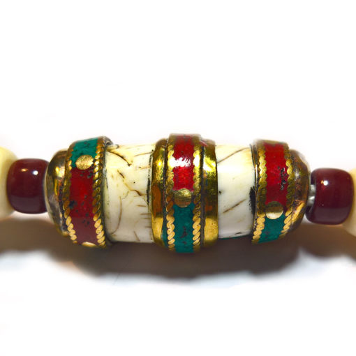 LAMA NEPALI SHELL artisanat népalais de grande valeur spirituelle