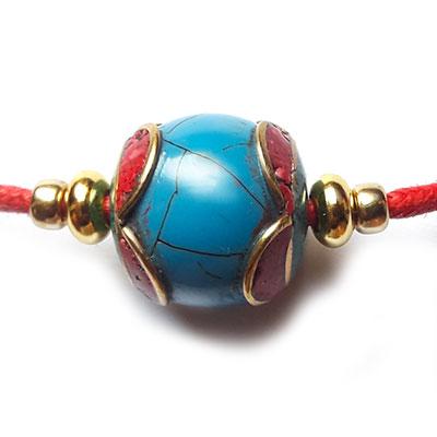 collier avec perle népali
