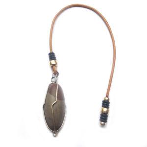 Pendule, pendulum lingam (pierre de shiva)