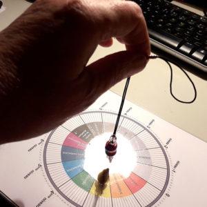 Pendule-pendulum nepali argent