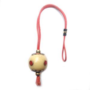 Pendule, pendulum rond en résine ivoire