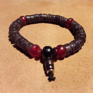 bracelet yak pour homme en os