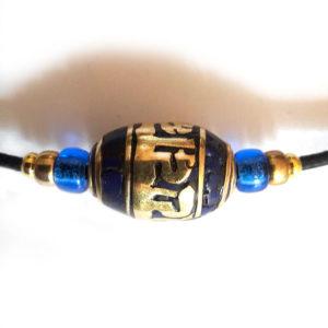 Collier su Nepal detail de la perle