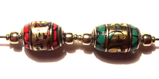 mantra corail et turquoise